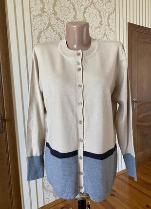 Rabe фирменный шикарный новый  кардиган свитер кофта отличного качества
