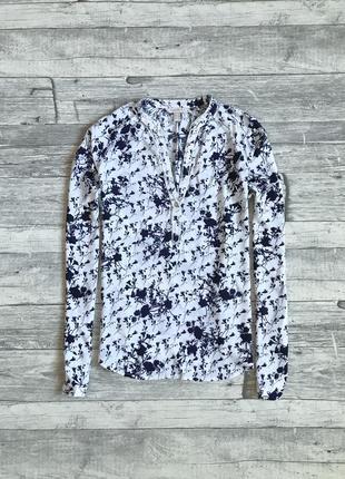 Блуза из натуральной ткани esprit