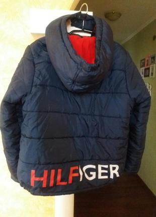 Брендова куртка tommy hilfiger для хлопчика 10-12 років