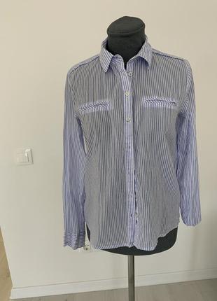 Рубашка тоненькая прямая