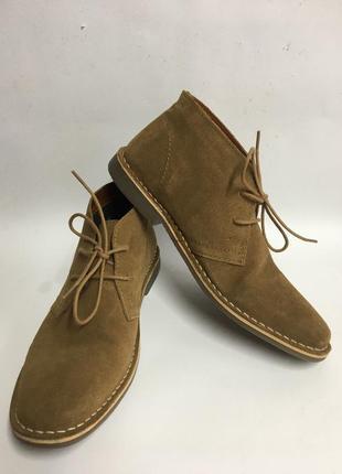 Чудесные стильные мужские брендовые туфли на каблуке
