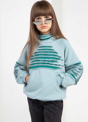 Детский свитер голубого цвета