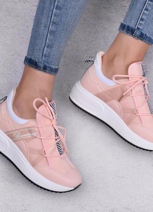 Пудровые кроссовки (333276)