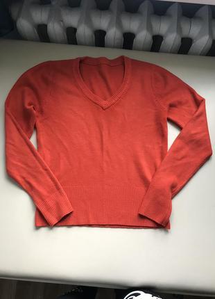 Укороченый тёплый свитер