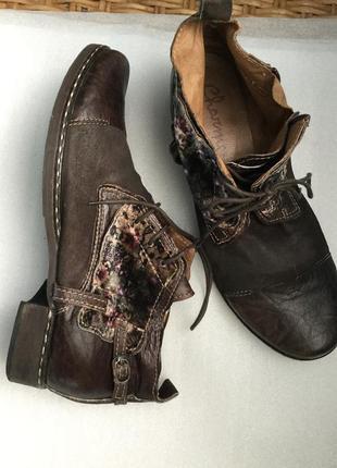 Эксклюзивные кожаные туфли charme ручной работы