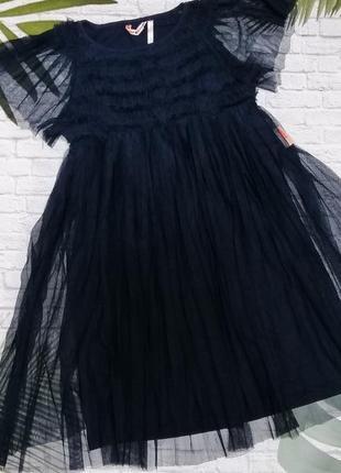 Нарядное платье nono на 6-7 лет