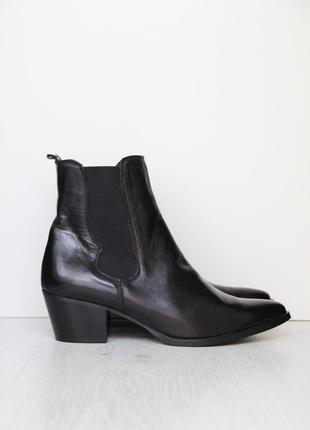 Кожаные ботинки казаки stilemoda