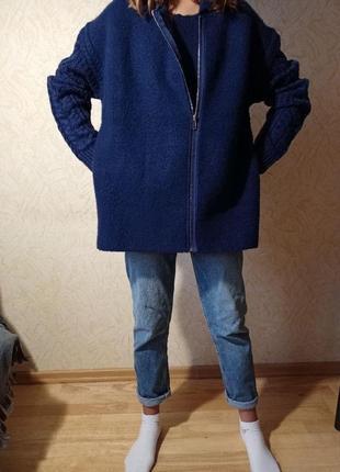 Куртка вязанная mango