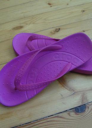 Вьетнамки crocs оригинал размер 41-