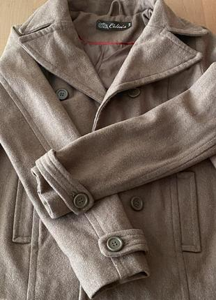 Пальто коричневое s-m, 42,44 colin's
