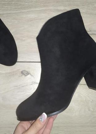 Женские ботинки осень каблук осенние модельные ботильоны