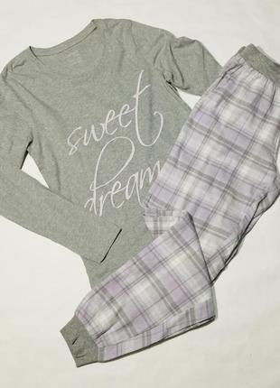 Женская пижама esmara c фланеливыми брюками