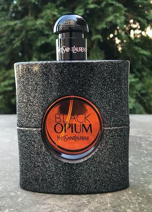 Оригинал yves saint laurent black opium 90 мл