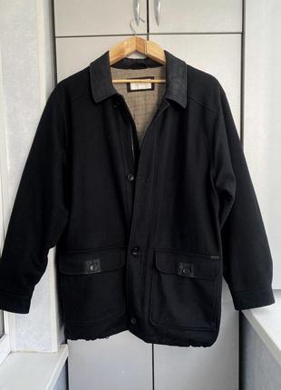 Стильное мужское пальто парка bison xxl