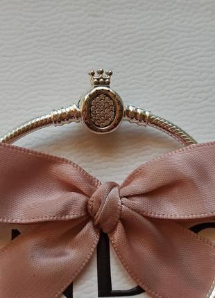 Браслет корона пандора, оригинал pandora стандартный браслет 18 см, размер