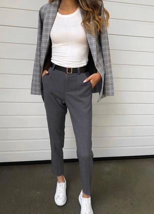 Трендовые прямые брюки zara