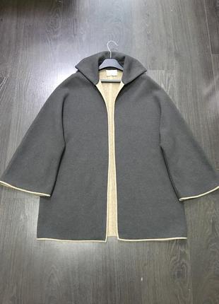 Кашемировый кардиган пальто agnona
