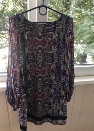 Новое платье с длинным рукавом