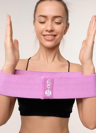 Набор тканевых плотных резинок сопротивления для фитнеса te-richt 3 шт