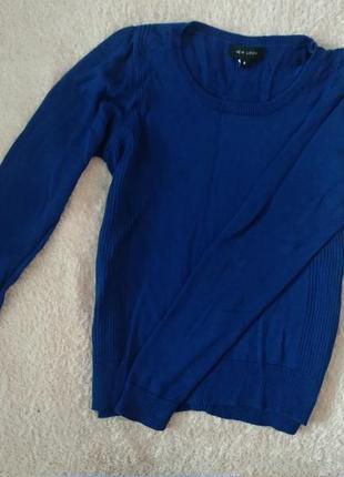 Синяя кофта джемпер от new look