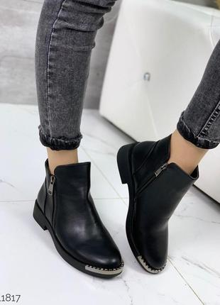 Ботинки = aba= экокожа