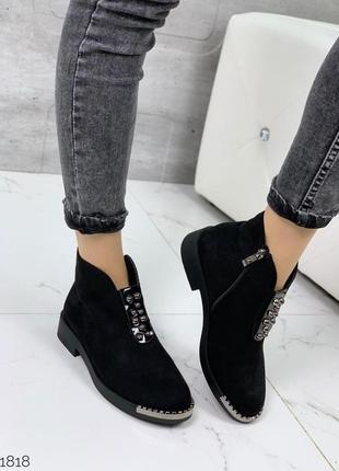 Ботинки = aba= экозамша