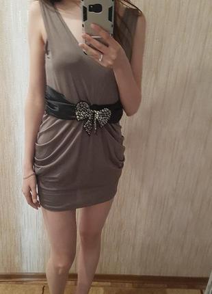 Итальянское коктельное платье