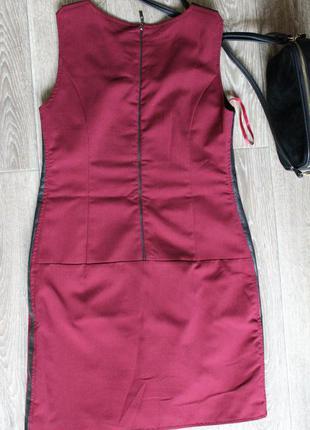 Платье цвета марсела