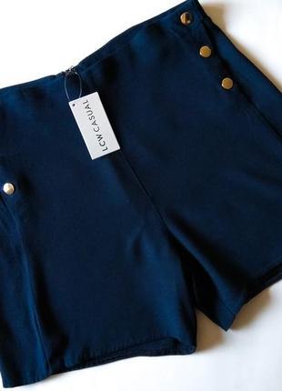 Sexy шорты высокая талия посадка осень весна можно на колготки