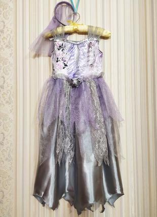 Карнавальное платье мертвая невеста труп зомби невесты на хэллоуин