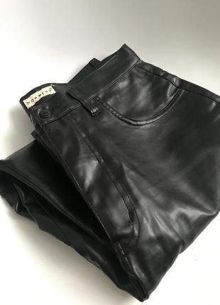 Шкіряні(еко) штани