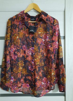 Блузка цветочный узор gina benotti разм.40