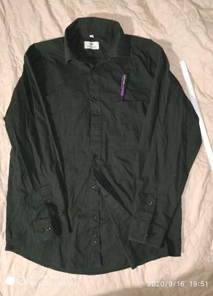 Базовая рубашка большого розмера- l xl