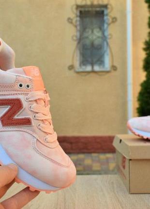 Шикарные кожаные кроссовки new balance 5745 фото