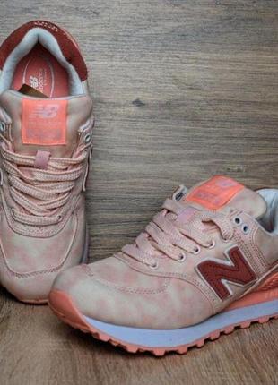 Шикарные кожаные кроссовки new balance 5748 фото