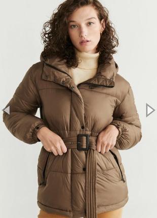Тёплая куртка от манго