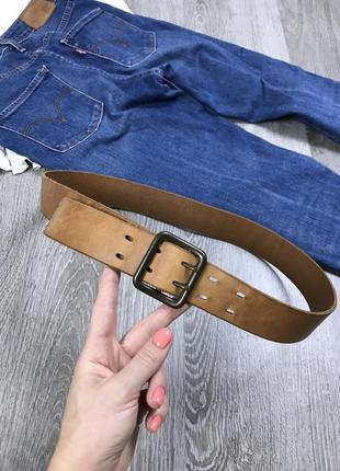 Качественный кожаный ремень