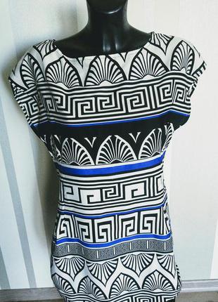 Короткое платье туника с арнаментом