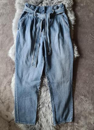 Женские модные   джинсы с высокой талией h m