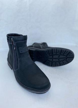 Сапоги кожаные, ботинки кожаные