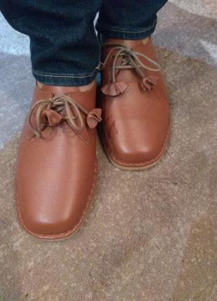 Туфли оригинал, кожа.