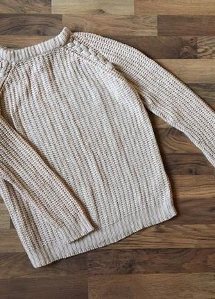 Пудровый свитерок