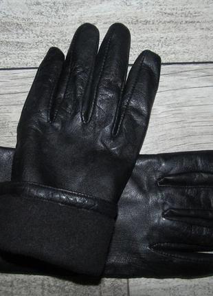 Кожаные перчатки р.l
