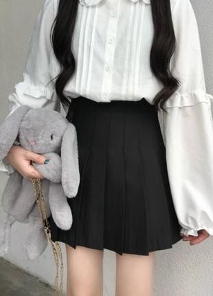 Юбка с шортами юбка плиссированная юбка в складку аниме