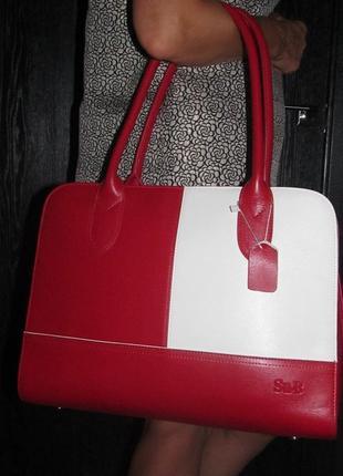 Кожаная люкс сумка su-b италия