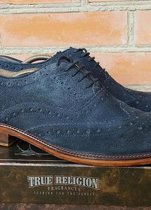 Ben sherman туфли броги замшевые оригинал (42)