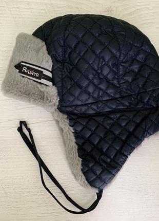 Зимняя шапка ушанка 48р.