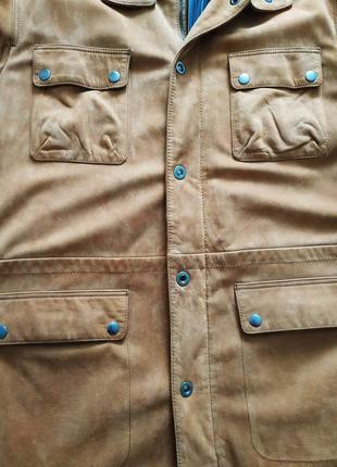 Куртка замшевая 54 размер