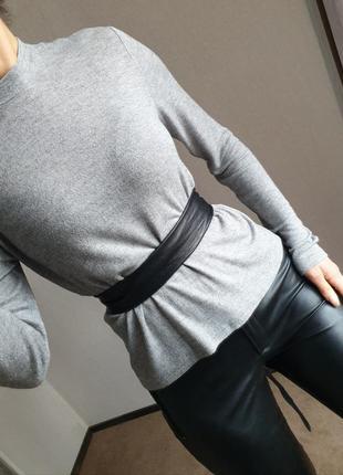 Классная приятная мягенькая кофта гольф свитер от atmosphere