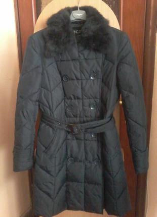 Демисезонное пальто куртка на синтепоне incity р.42-44